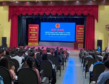 Hội nghị triển khai, hướng dẫn về hóa đơn điện tử